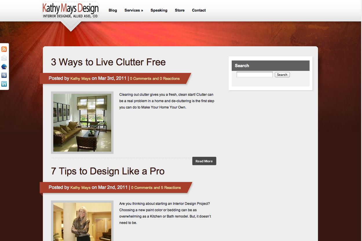 Kathy Mays Design Blog